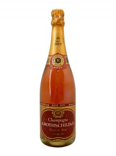 Champagne Alfred Rothschild Rosé Brut 1979 Bouteille (75cl)