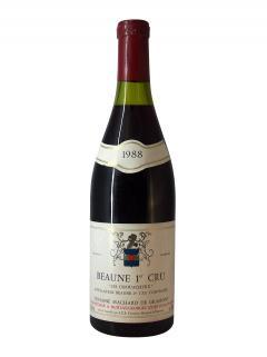 Beaune 1er Cru Les Chouacheux Domaine Machard de Gramont 1988 Bouteille (75cl)