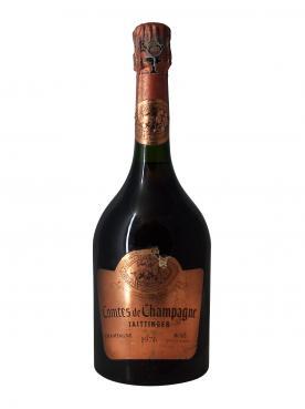 Champagne Taittinger Comtes de Champagne Rosé Brut 1976 Bouteille (75cl)