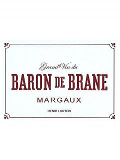 Baron de Brane 2014 Caisse bois d'origine de 6 bouteilles (6x75cl)