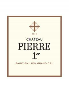 Château Pierre Ier 2014 Caisse bois d'origine de 12 bouteilles (12x75cl)