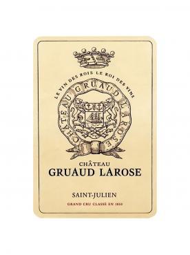 Château Gruaud Larose 2014 Caisse bois d'origine de 3 magnums (3x150cl)