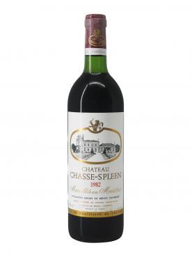 Château Chasse-Spleen 1982 Caisse bois d'origine de 12 bouteilles (12x75cl)