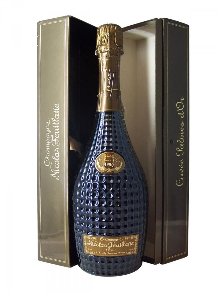 Champagne Nicolas Feuillatte Palmes d'Or Brut 1990 Bouteille (75cl)