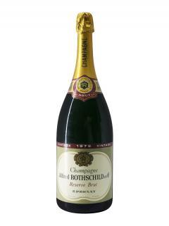 Champagne A. Rothschild Brut 1979 Magnum (150cl)