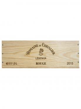 Domaine de Chevalier 2015 Caisse bois d'origine de 3 magnums (3x150cl)