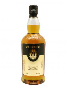Whisky Springbank Aged 21 Years J. & A. Mitchell & Co. LTD. Non millésimé Bouteille (70cl)