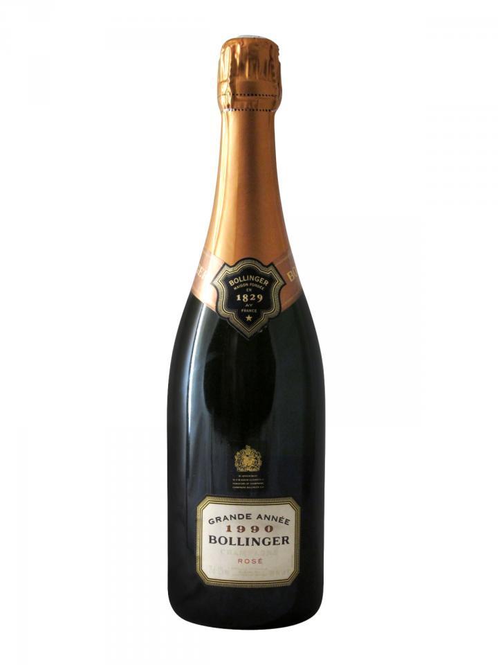 Champagne Bollinger La Grande Année Rosé Brut 1990 Bouteille (75cl)