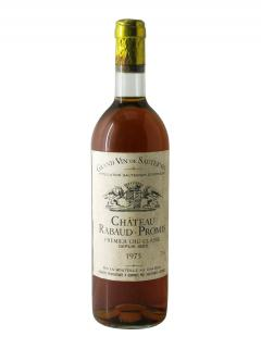 Château Rabaud-Promis 1975 Bouteille (75cl)