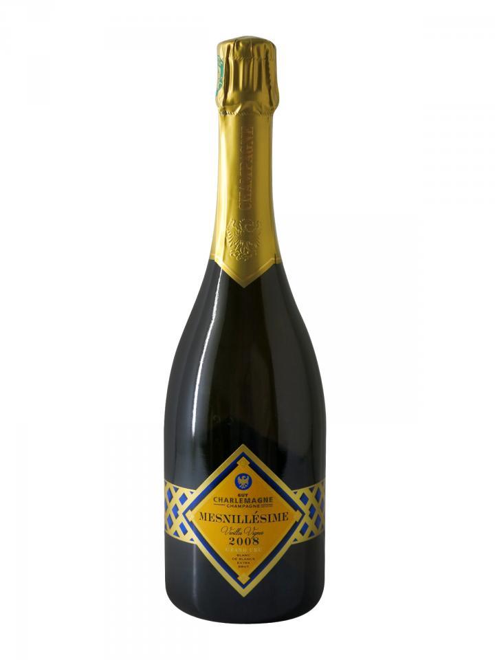 Champagne Guy Charlemagne Mesnillésime Blanc de Blancs Grand Cru 2008 Bouteille (75cl)