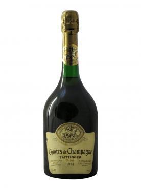 Champagne Taittinger Comtes de Champagne Blanc de Blancs Brut 1981 Bouteille (75cl)