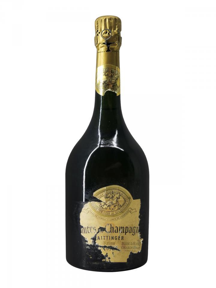 Champagne Taittinger Comtes de Champagne Blanc de Blancs Brut 1976 Bouteille (75cl)
