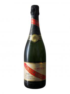 Champagne Mumm Cordon Rouge Brut 1989 Bouteille (75cl)