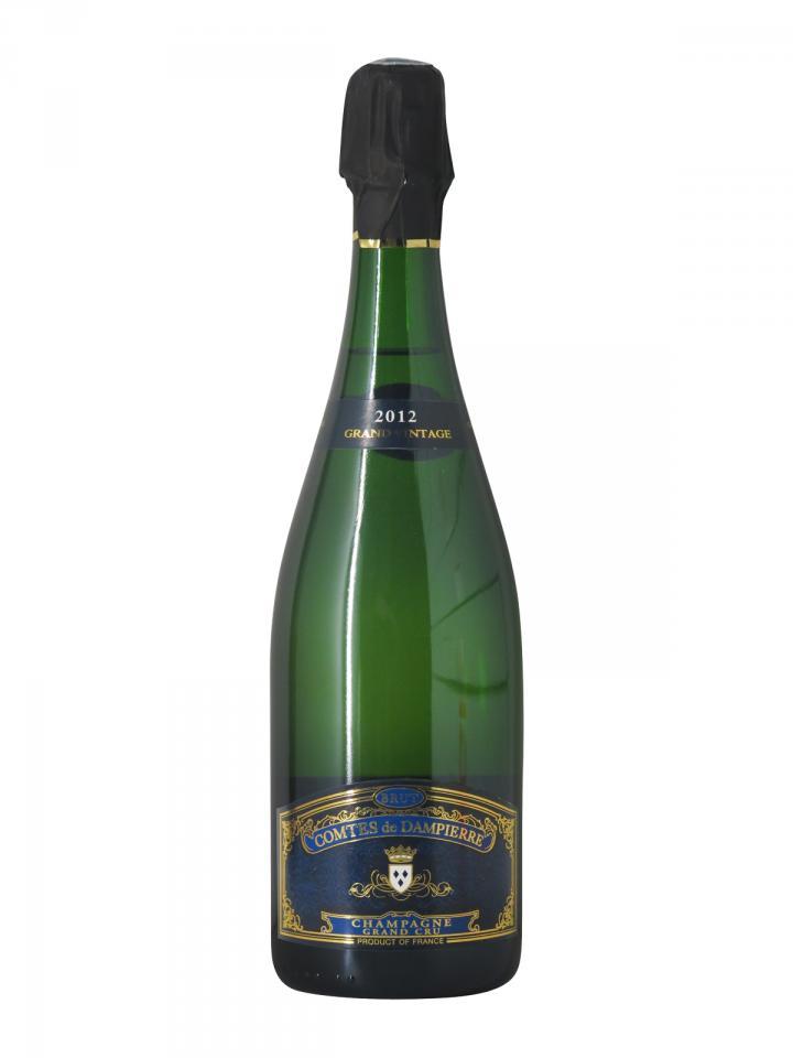 Champagne Comtes de Dampierre Grand Vintage Brut Grand Cru 2012 Bouteille (75cl)