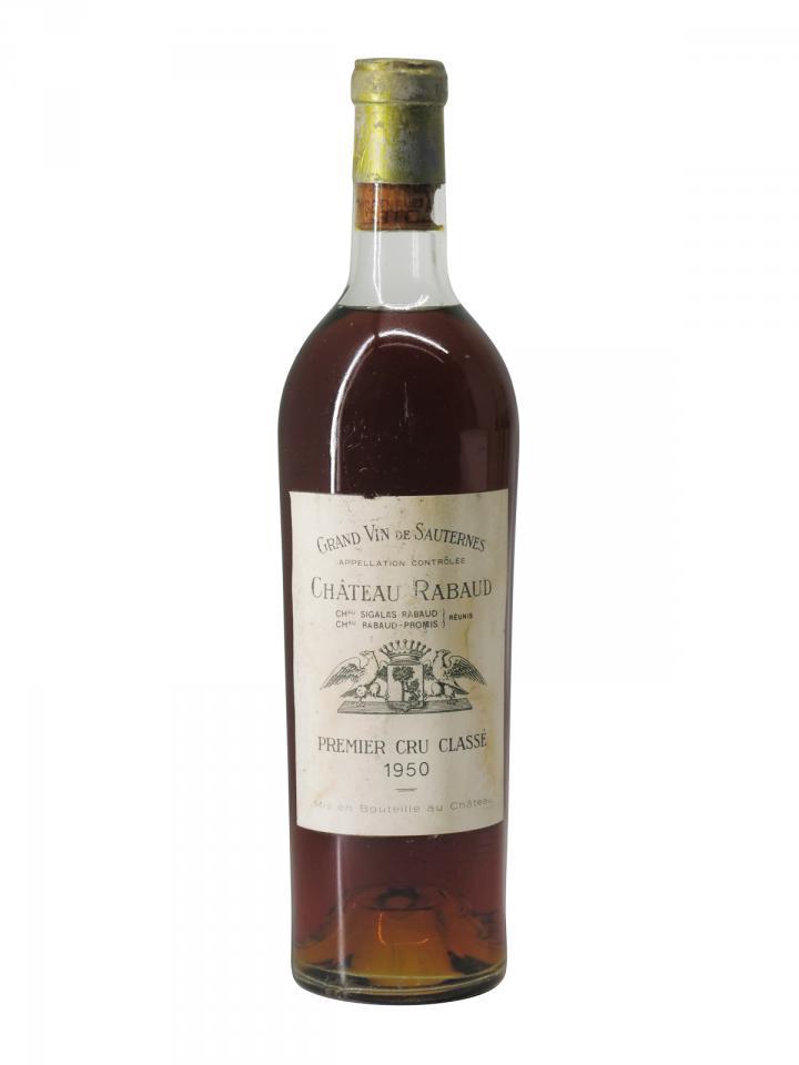Château Rabaud 1950 Bouteille (75cl)