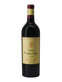 Château Phélan Ségur 2010 Caisse bois d'origine de 12 bouteilles (12x75cl)