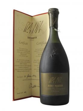 Cognac Grande Fine Champagne 1724 - 1974 250ème Anniversaire, 25 février 1974 Premier Cru Remy Martin Non millésimé Coffret d'une boutei
