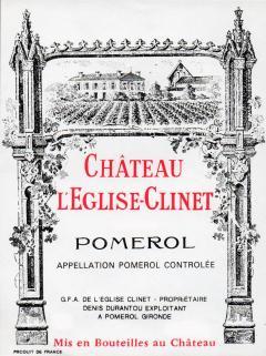 Château l'Eglise-Clinet 1982 Caisse bois d'origine de 12 bouteilles (12x75cl)
