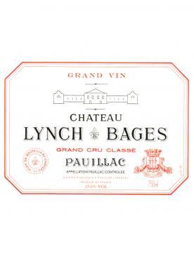 Château Lynch Bages 2000 Caisse bois d'origine de 24 demi bouteilles (24x37.5cl)