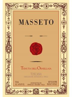 Tenuta dell'Ornellaia Masseto Merlot 2013 Caisse bois d'origine de 3 bouteilles (3x75cl)