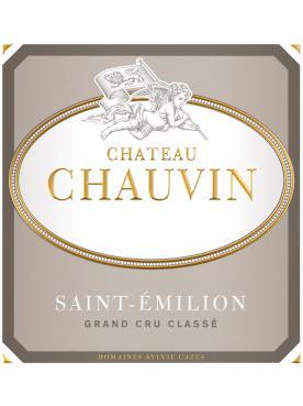 Château Chauvin 2015 Caisse bois d'origine de 6 bouteilles (6x75cl)