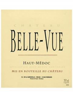 Château Belle-Vue (Haut-Médoc) 2009 Caisse bois d'origine de 12 bouteilles (12x75cl)