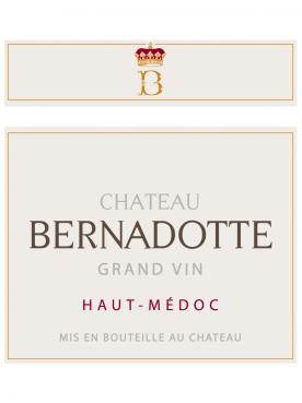 Château Bernadotte 2011 Caisse bois d'origine de 12 bouteilles (12x75cl)