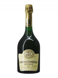 Champagne Taittinger Comtes de Champagne Blanc de Blancs Brut 1982 Bouteille (75cl)