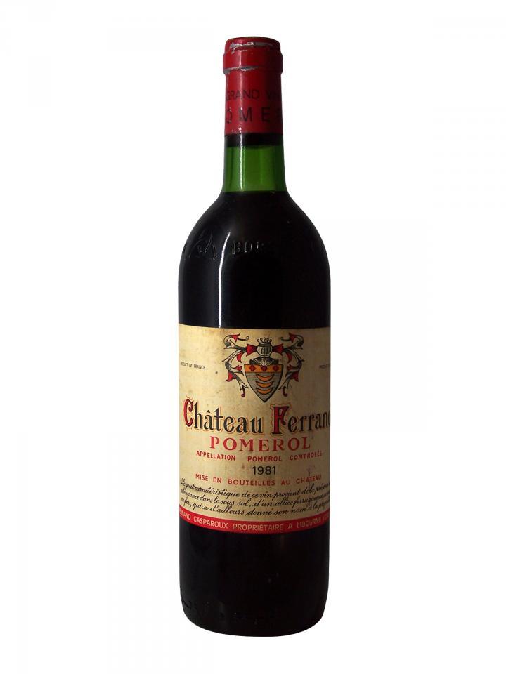 Château Ferrand 1981 Bouteille (75cl)