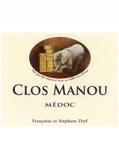 Clos Manou 2010 Caisse bois d'origine de 6 bouteilles (6x75cl)