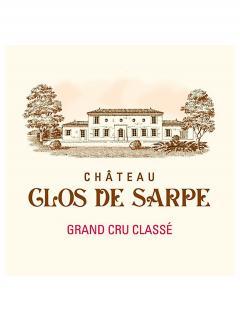 Château Clos de Sarpe 2015 Caisse bois d'origine de 6 bouteilles (6x75cl)