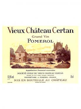 Vieux Château Certan 1995 Caisse bois d'origine de 12 bouteilles (12x75cl)