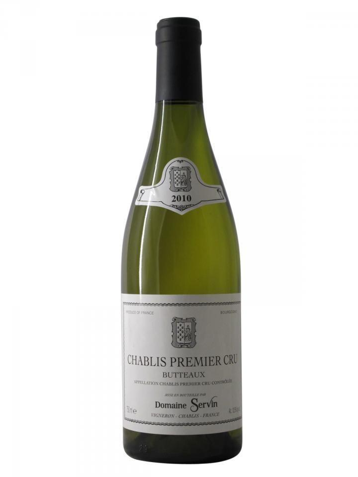 Chablis 1er Cru Butteaux Domaine Servin 2010 Bouteille (75cl)