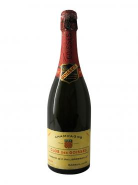 Champagne Philipponnat Clos des Goisses Brut 1947 Bouteille (75cl)