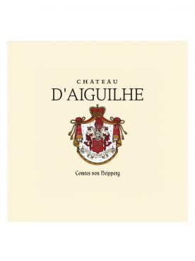 Château d'Aiguilhe 2014 Caisse bois d'origine de 12 bouteilles (12x75cl)