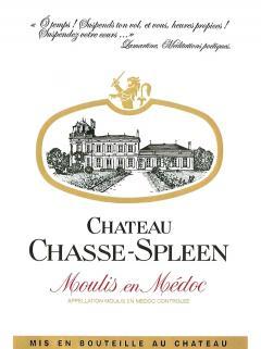 Château Chasse-Spleen 2011 Caisse bois d'origine de 3 double magnums (3x300cl)