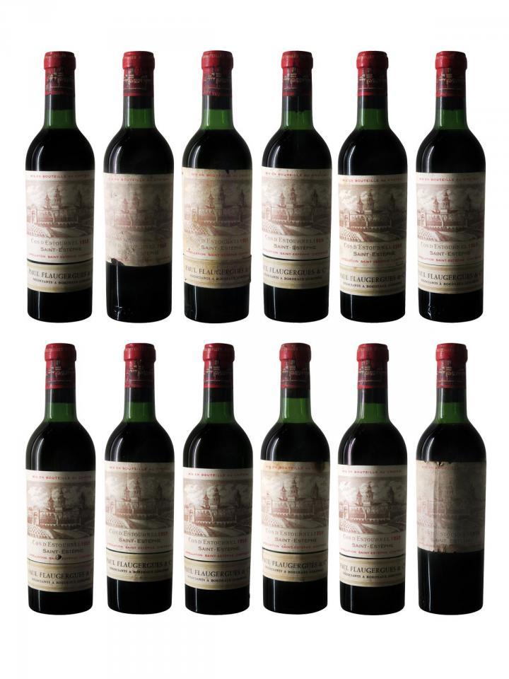 Château Cos d'Estournel 1959 12 demi bouteilles (12x37.5cl)