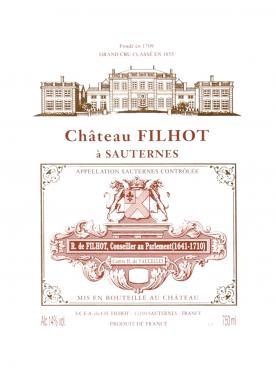 Château Filhot 2003 Caisse bois d'origine de 12 bouteilles (12x75cl)