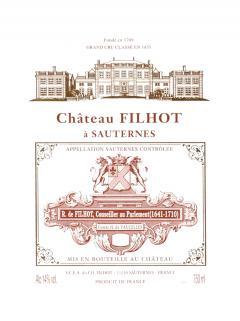 Château Filhot 2014 Caisse bois d'origine de 24 demi bouteilles (24x37.5cl)