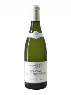 Bourgogne Hautes-Côtes de Beaune Domaine Françoise & Denis Clair 2017 Bouteille (75cl)