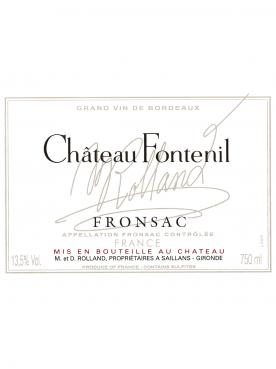 Château Fontenil 2015 6 bouteilles (6x75cl)