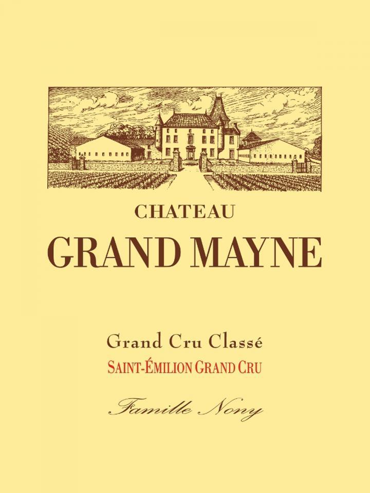 Château Grand Mayne 2012 Caisse bois d'origine de 12 bouteilles (12x75cl)