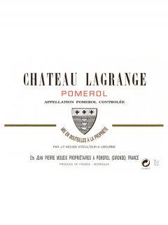 Château Lagrange (Pomerol) 2012 Caisse bois d'origine de 12 bouteilles (12x75cl)