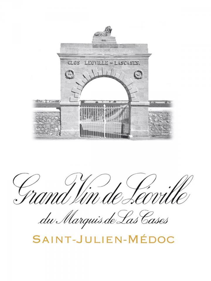 Château Léoville Las Cases 1996 Caisse bois d'origine de 12 bouteilles (12x75cl)
