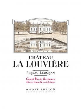 Château La Louvière 1991 Caisse bois d'origine d'un double magnum (1x300cl)