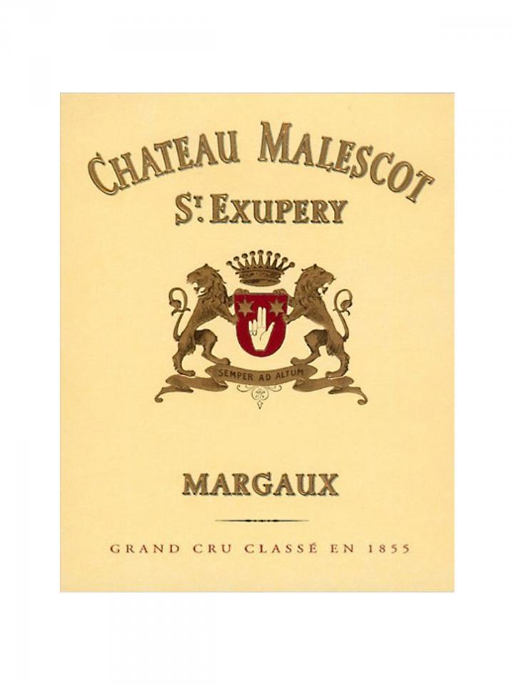 Château Malescot Saint Exupery 2012 Caisse bois d'origine de 12 bouteilles (12x75cl)