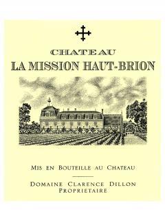 Château La Mission Haut-Brion 2000 Caisse bois d'origine de 12 bouteilles (12x75cl)