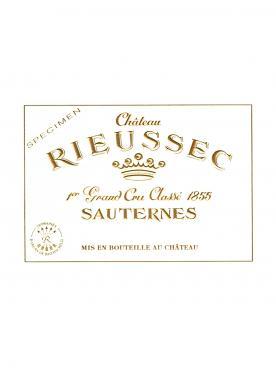 Château Rieussec 2015 Caisse bois d'origine de 12 demi bouteilles (12x37.5cl)