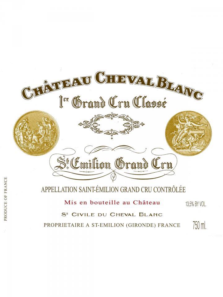 Château Cheval Blanc 2012 Caisse bois d'origine de 6 bouteilles (6x75cl)