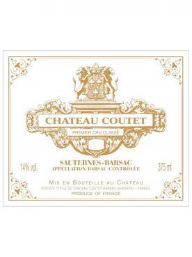Château Coutet 2016 Caisse bois d'origine de 12 bouteilles (12x75cl)